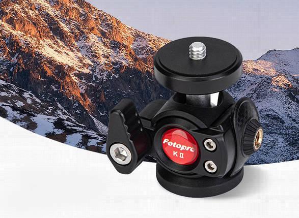 Штативная головка для штатива Fotopro K2, фото 2