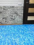 М'яка підлога пазл Wall Sticker модульне покриття для підлоги 600*600*10 мм під блакитний океан, фото 2