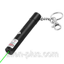 Лазер-ліхтар 713 акумуляторний (USB, Зелений лазер)