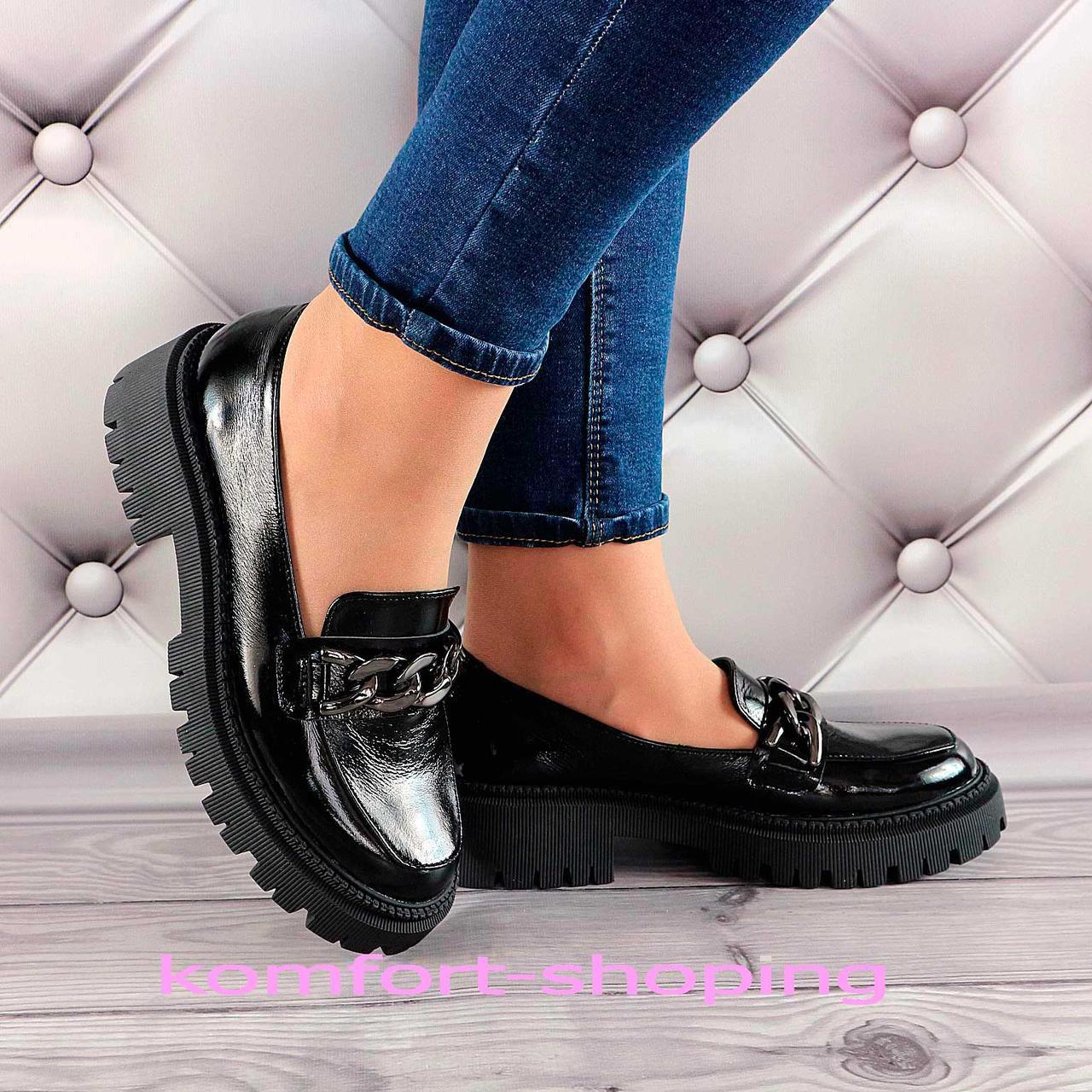 Туфлі жіночі лакові V 1380