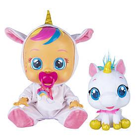 Набір Лялька Плакса Единорожка Дрими і вихованець Рим Cry Babies Fantasy Dreamy and Rym