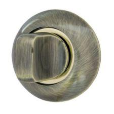 Фіксатор поворотний Armadillo WC-BOLT BK6-1AB/SG-6 бронза/матове золото