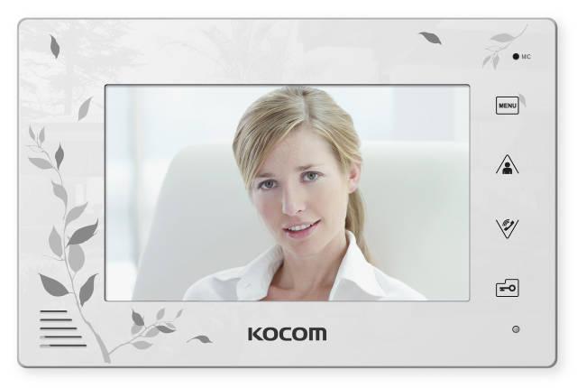 Видеодомофон KCV-A374SD White, фото 2