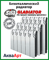 Радиатор биметаллический Sira GLADIATOR H.500х80