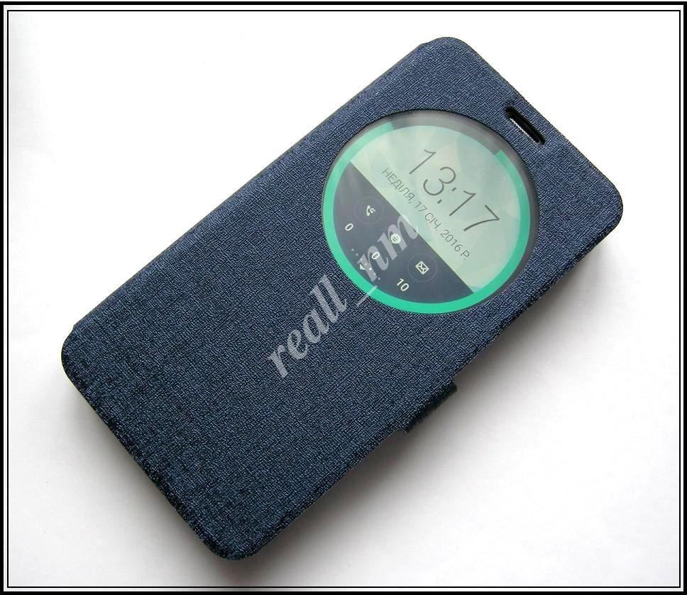 Синий Silk MC View Flip Cover чехол-книжка для смартфона Asus Zenfone 2 ZE551ML, ZE550ML