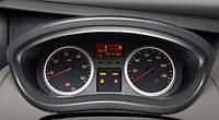 Кольца в щиток приборов (хром)  на Renault Trafic  + Opel Vivaro 2001->  —  Турция