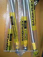 """Шланг нержавейка(подводка) для подключения газа Sandi-Flex 1/2""""гш 100см, фото 1"""
