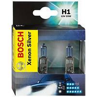Комплект ксеноновых ламп H1 12V 55W (Xenon Silver) на Renault Trafic 2001-> — Bosch (Германия) - 1987301080