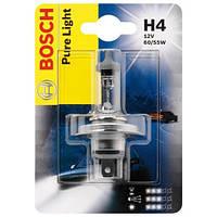 Галогенная лампа H4 12V 60/55W (Pure Ligft) блистер, на Renault Trafic 01->  — Bosch (Германия) - 1987301001