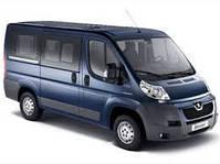 Козырек для Peugeot Boxer (2006-2014)