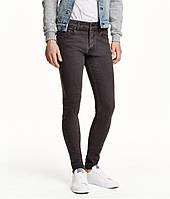 Джинси H&M DIVIDED Man - Classic Skinny Black (мужские джинсы)