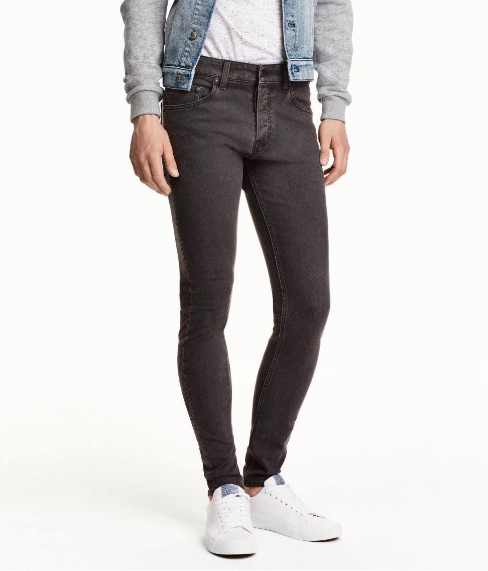 Джинси H M DIVIDED Man - Classic Skinny Black (мужские джинсы) - Unitedshop  в Ивано f0531631a5039