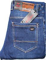 Зимові чоловічі джинси на флісі Atwolves, W36 L34. Стрейч. Сині.