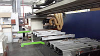 Biesse Rover 342 бу обрабатывающий центр с ЧПУ для мебели, два фрезерных шпинделя, сверлильная группа