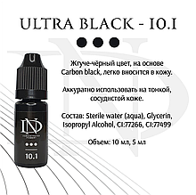 Пигмент для глаз Ultra Black -10.1