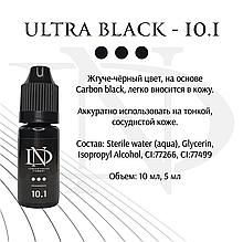 Пігмент для очей Ultra Black -10.1