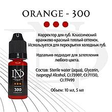 Корректор для пигментов перманетный макияжа Orange-300
