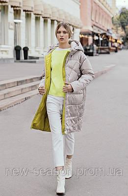 Пальто осень-весна Batterflei 2115 молочный