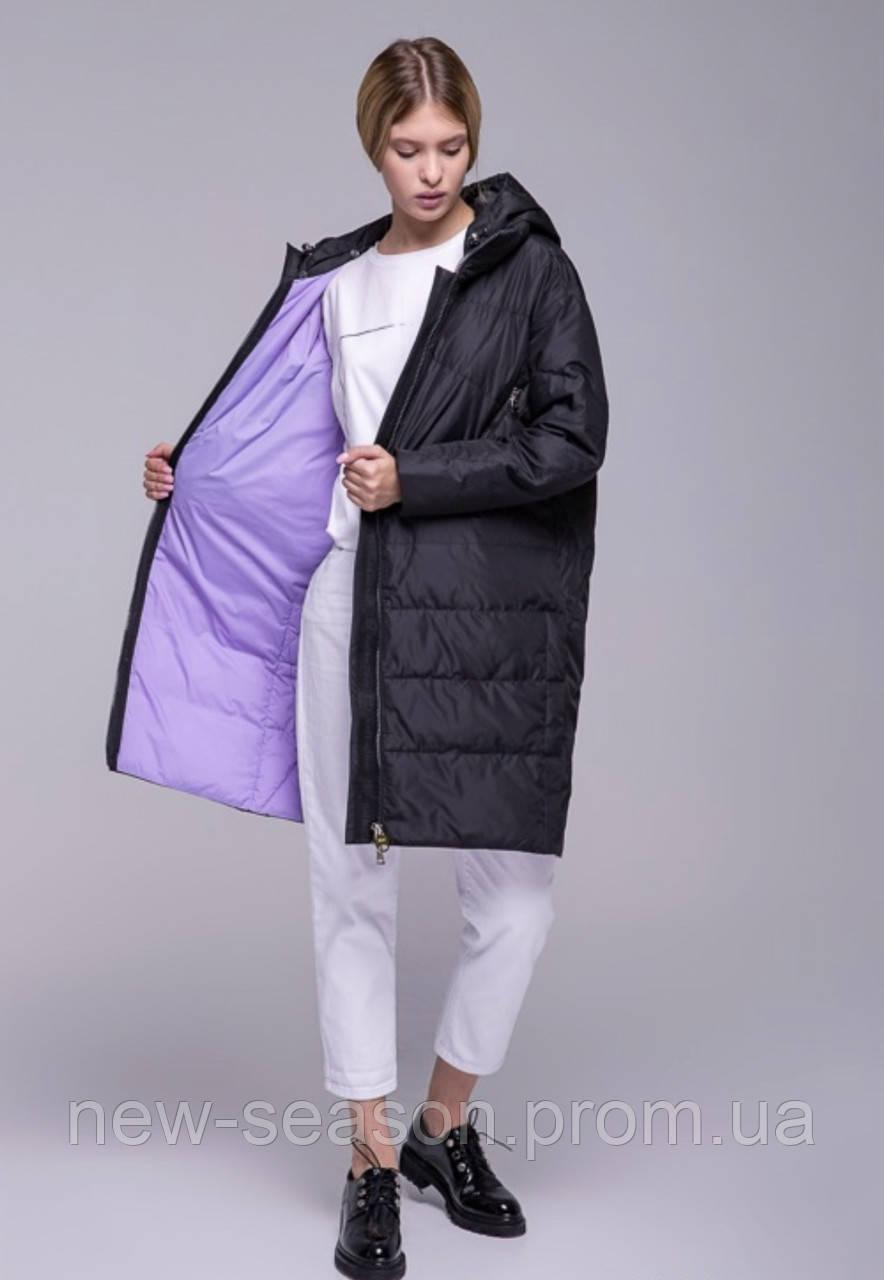 Пальто осінь-весна Batterflei 2115 чорний