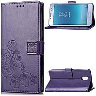 Чохол Clover для Nokia 3 Книжка шкіра PU фіолетовий