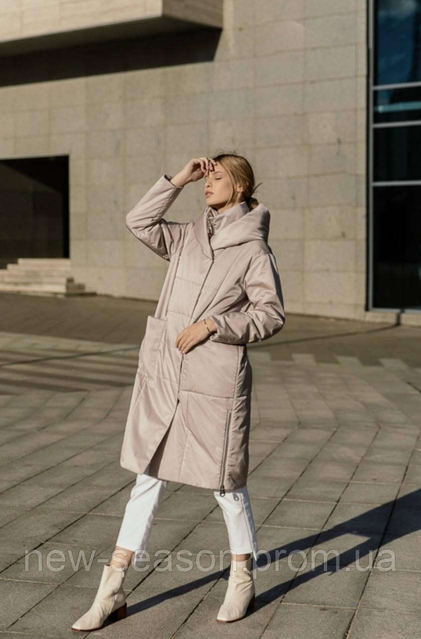 Пальто демисезонное Batterflei 2111 молочный