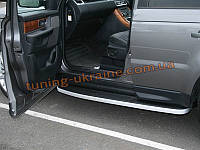 Защита под пороги ABS для Range Rover Sport