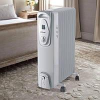 Масляный радиатор, переносной обогреватель для дома на 9 секций Maestro MR-951-9