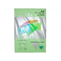 Бумага А4 SPECTRA (80 г/кв.м.) 100 лис., пастельный светло-зеленый