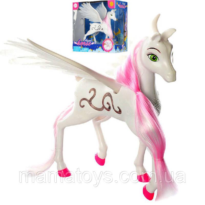 Конячка DEFA 8325 Ангел, 23 см на батарейках