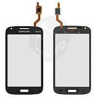 Сенсорный экран (touchscreen) для Samsung Galaxy Core i8260/i8262, синий, оригинал
