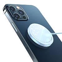Беспроводное зарядное устройство USAMS US-CD155 MagSafe для iPhone 12 серии 15W