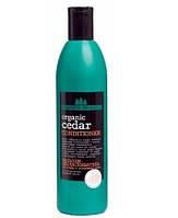"""Бальзам - ополаскиватель для тонких и ослабленных волос """"ORGANIC CEDAR"""", Planeta organica, 360 мл. RBA /58-42"""