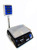 Торговые электронные весы до 50 кг 208 + стойка