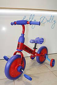 Велосипед-беговел 2в1 PROFI KIDS М 5453, Червоний