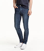 Джинси H&M DIVIDED Man - Classic Skinny Blue2 (мужские джинсы)