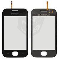 Сенсорный экран (touchscreen) для Samsung Galaxy Ace Duas S6802, черный, оригинал