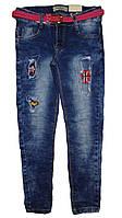 Джинсовые брюки для девочек  Seagull, 134-164 рр. Арт.CSQ-88869, фото 1