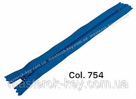 Блискавка спіднична Тип 3 18см нераз'емна колір Лагуна 756