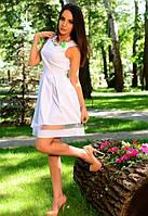 Платье женское белое,летнее платье короткий рукав женское,