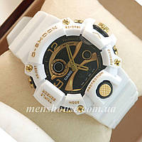 Бюджетные часы G-Shock Triple Sensor White/Gold