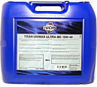 Моторное масло FUCHS TITAN UNIMAX ULTRA MC 10W-40 (20л.)