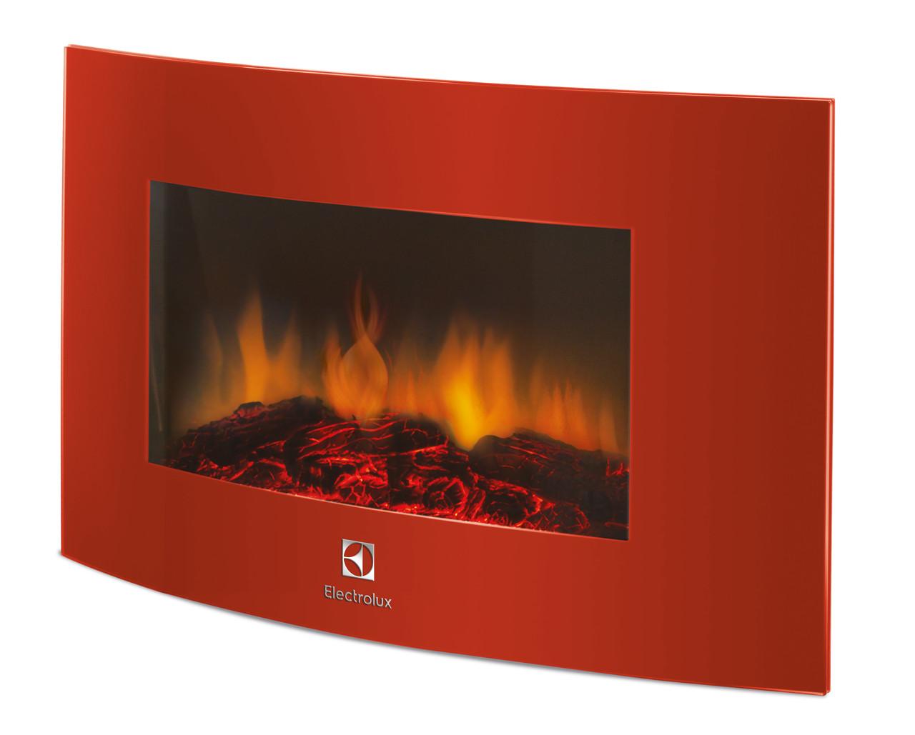 Электрокамин Electrolux EFP/W-1200URLS Красный (НС-1070931)