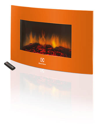 Електрокамін Electrolux EFP/W-1200URLS Помаранчевий (НС-1070932), фото 2