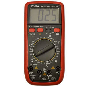 Цифровой мультиметр тестер DT VC61A