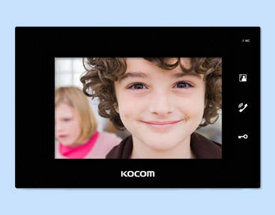 Видеодомофон KCV-A374 Black, фото 2