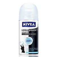 Женский шариковый дезодорант Nivea Невидимая защита Pure 50 мл