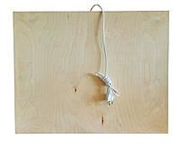 Инфракрасный деревянный обогреватель-подставка QSB 100 Вт Бежевый (46-891711834), фото 1