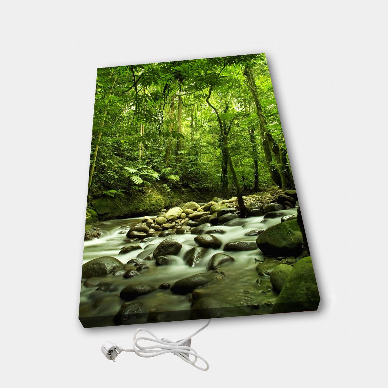 Обогреватель настенный электрический инфракрасный картина ионизация АртТепло Лес (Hot00012)