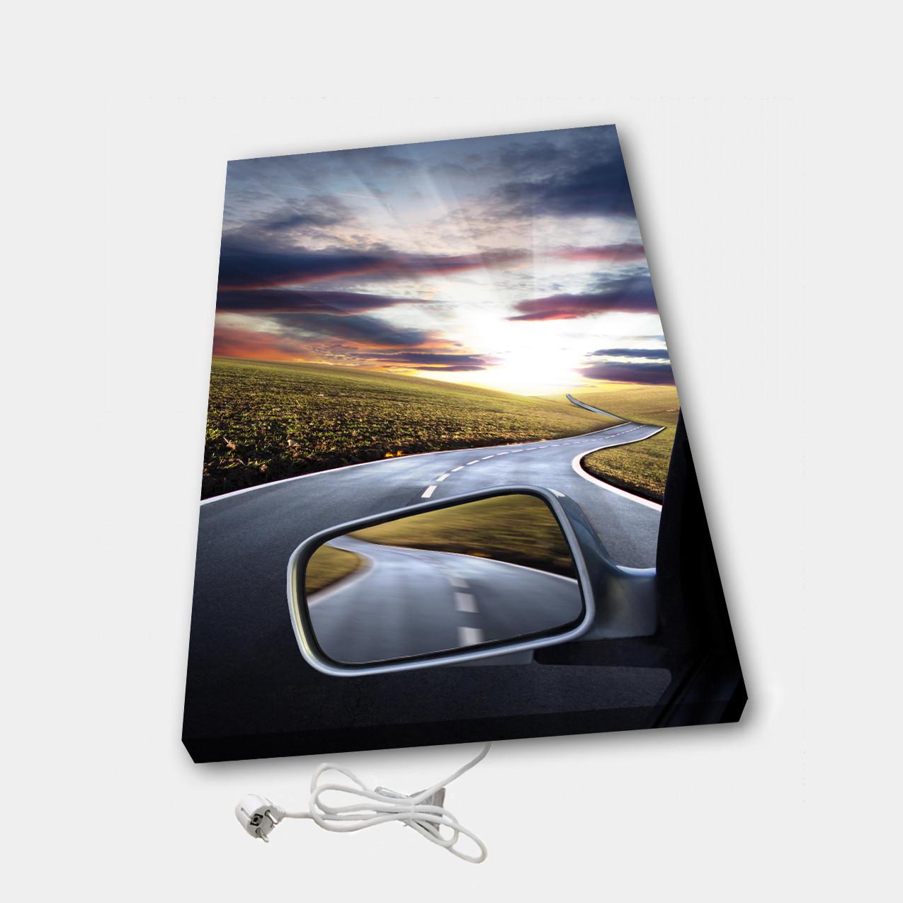 Обігрівач настінний електричний інфрачервоний картина іонізація АртТепло З машини (Hot00010)