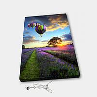 Обігрівач настінний електричний інфрачервоний картина іонізація АртТепло Кулі (Hot00030), фото 1
